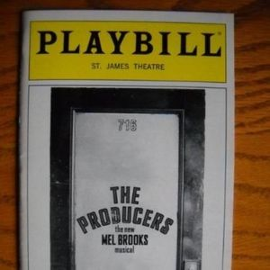 Playbill  The Producers Henry Goodman Steven Weber